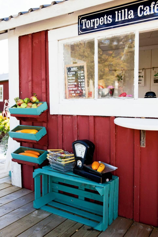I den här lekstugan ligger sommarens sötaste kafé