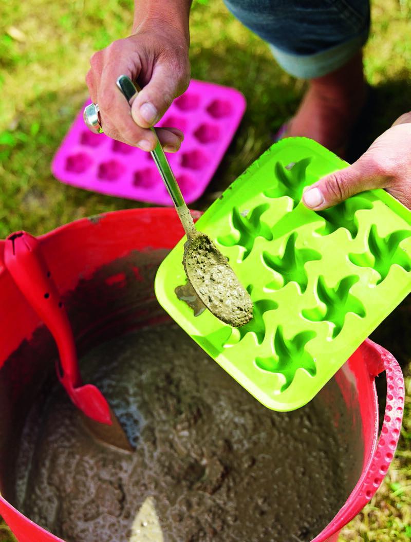 Gjut ett luffarschack i betong och gör barnen glada i sommar