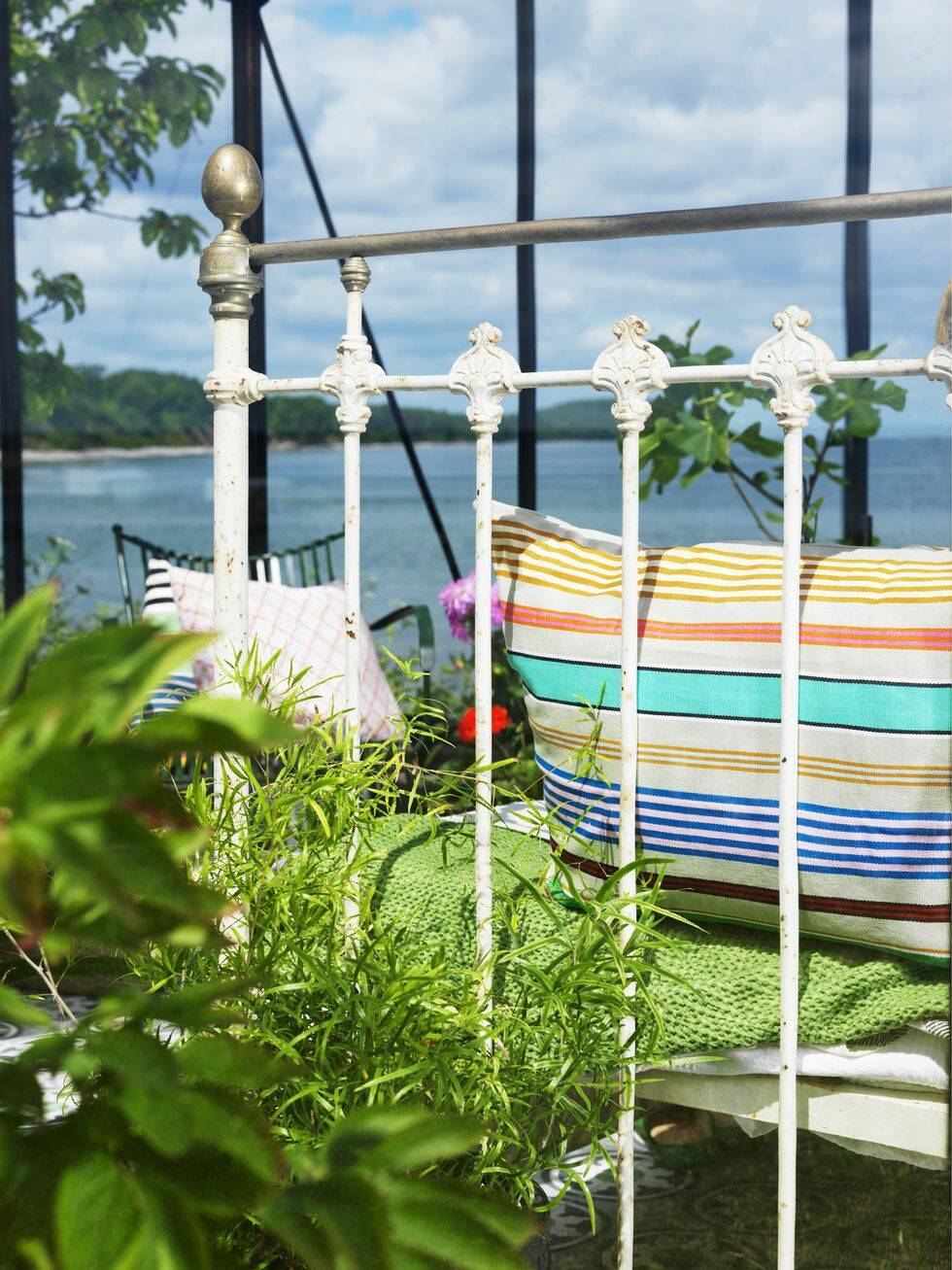 Så här skapar du sommarens snyggaste och mest avkopplande växthus