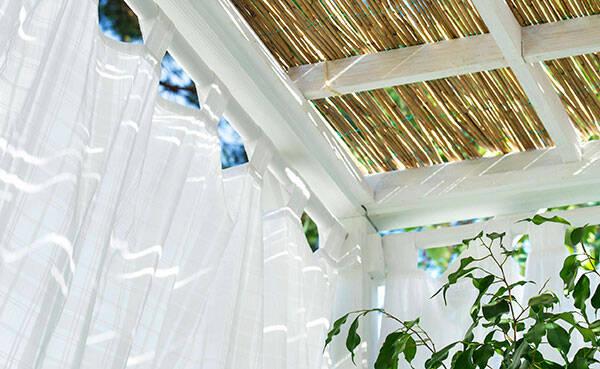 Så här skapar du sommarens skönaste badrum – i din trädgård