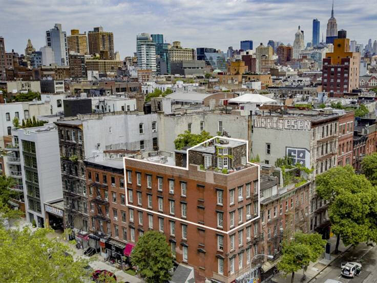 Bilder: Unika lilla villan – på ett hustak på Manhattan