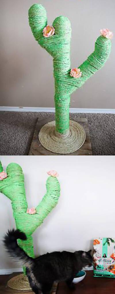 Gulligaste kaktus-dekorationerna du kan göra själv