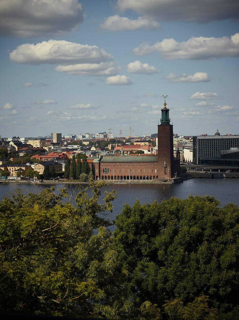 Den här lägenheten har kanske Stockholms bästa utsikt just nu