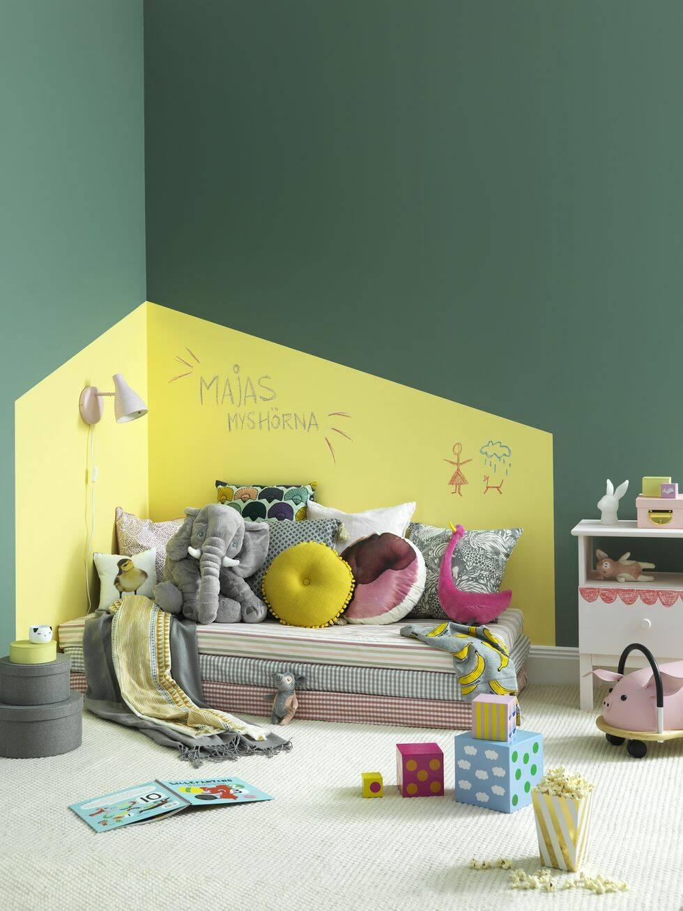 Trolla med färg – 3 smarta sätt att förnya ett rum