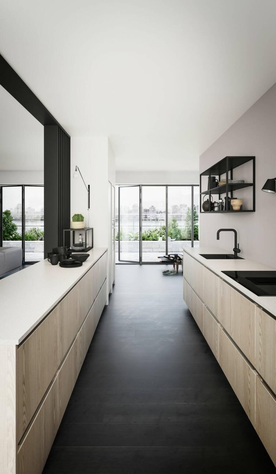 5 nya kök för dig som föredrar den avskalat eleganta stilen