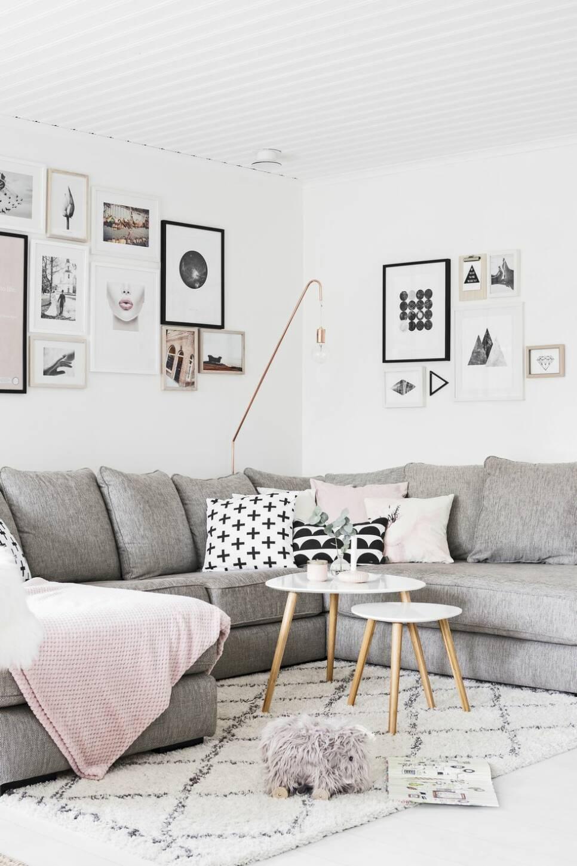 Drömhemmet för dig som älskar ljusa färger och skandinavisk design