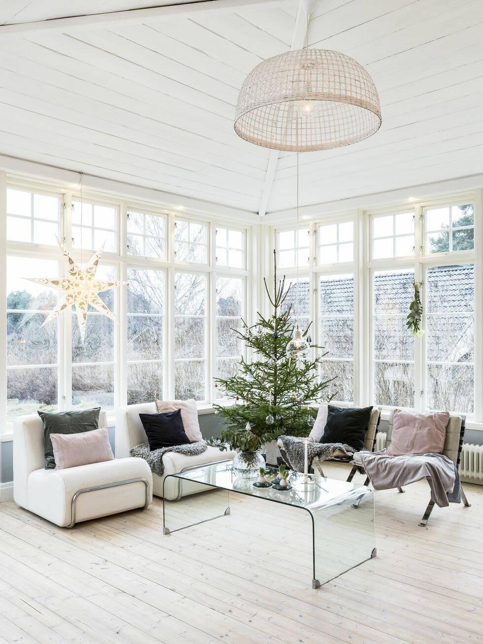 Drömmigt julhem – naturliga färger och pasteller istället för rött och tomtar