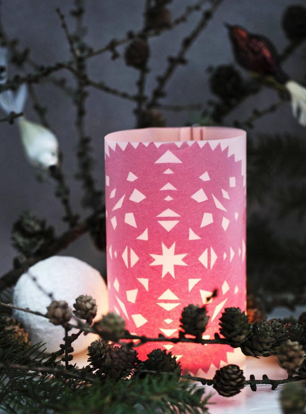 Lys upp hemmet med egengjorda ljuslyktor i jul