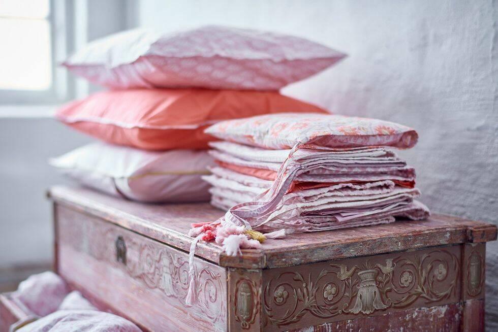 Hon har skapat sängkläderna som står på allas önskelistor inför jul