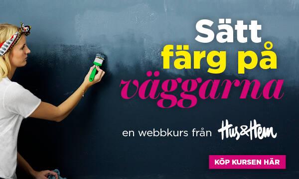 Nästa år vågar vi ännu mer färg på väggarna – här är Nordsjös nya kulörkarta