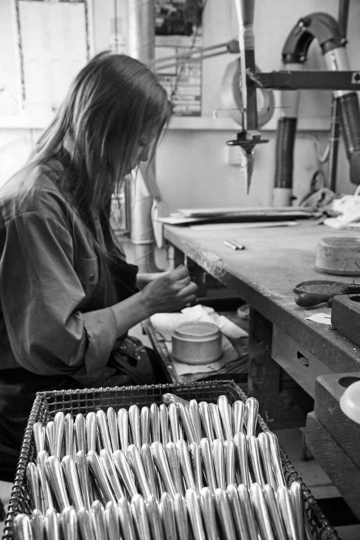 Svenskt hantverk: Genses populära silverbestick tillverkas i Eskilstuna