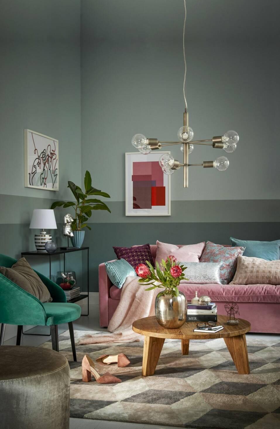 6 bilder som visar varför du ska klä ditt hem i färg i år