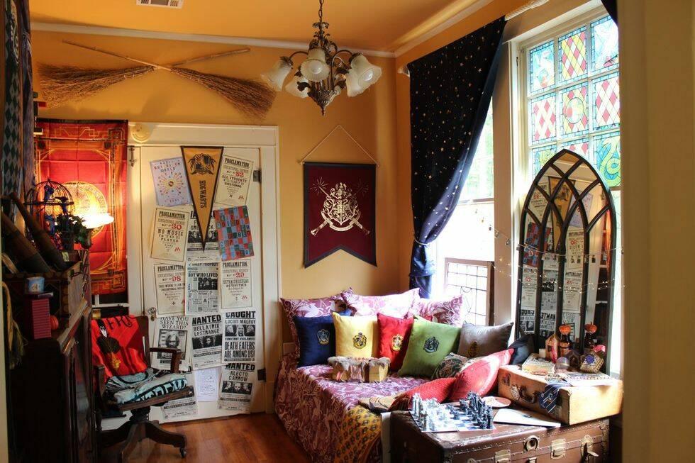 De här fansen har skapat det mest magiska Harry Potter-rummet vi sett