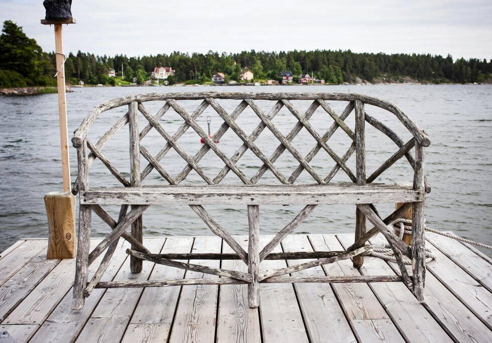 Veckans drömhem: Ett rött litet torp i Stockholms skärgård