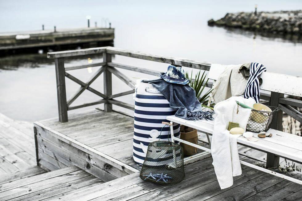 Duka upp med nyanser av blått i sommar