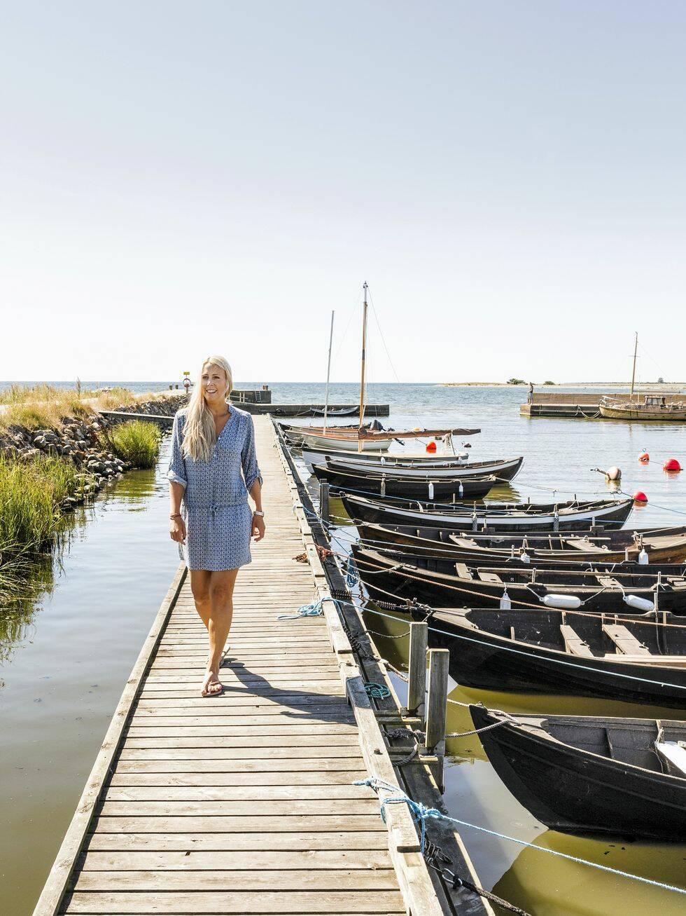 Gotlandsgård i milda toner
