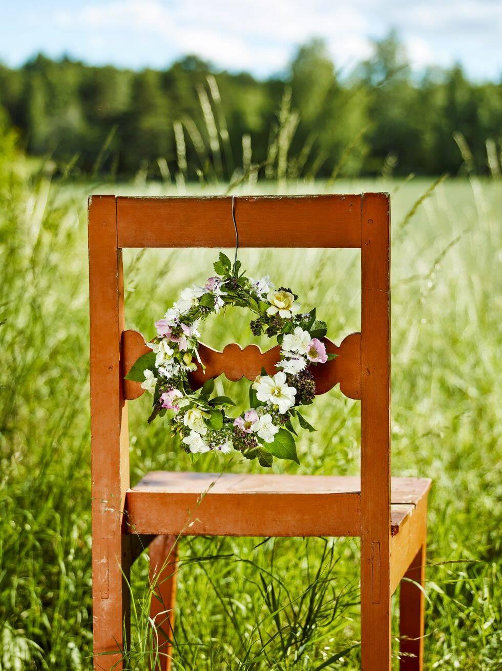 Skapa med blommor