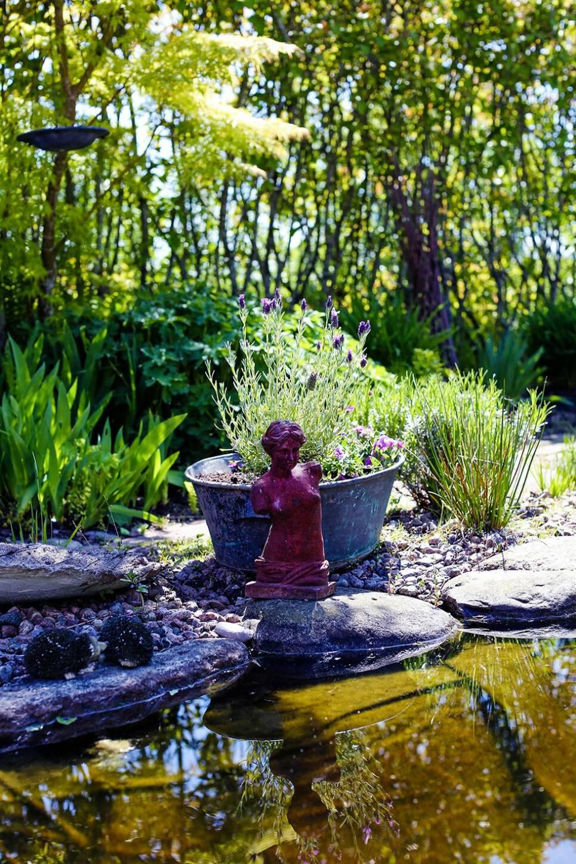 Färgstarkt i Vadstena – inspireras av en grönskande trädgård