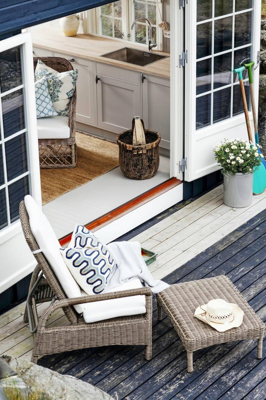 Båthus med havet som granne – på bara 25 kvadrat