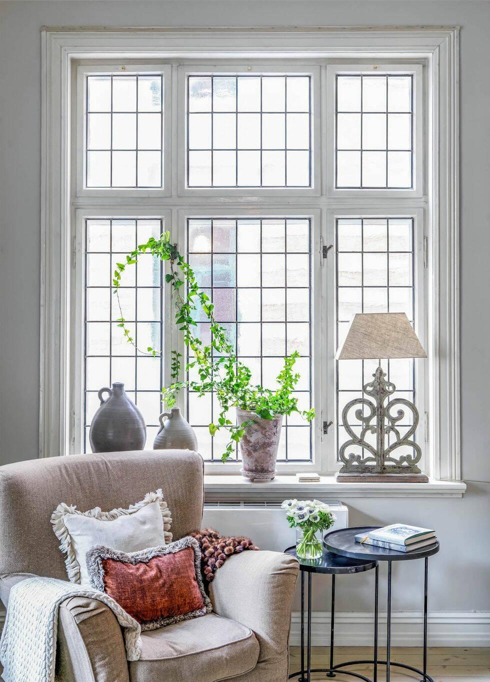 Enkelhet och elegans i magiska sekelskiftesvåningen