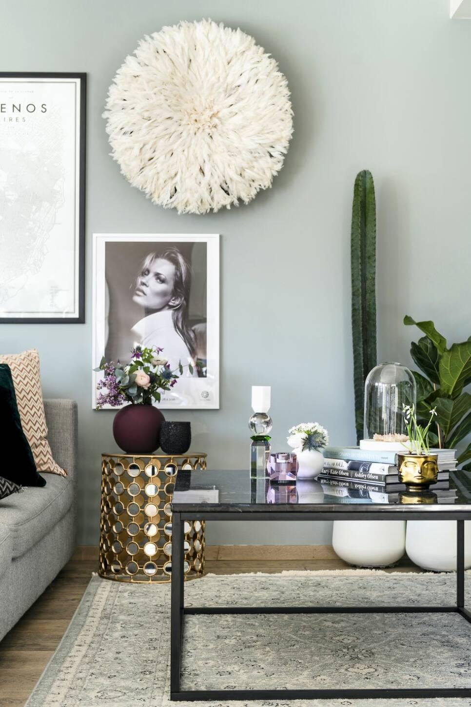 En touch av glamour – på bara 58 kvadrat