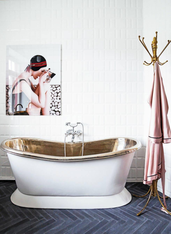 Här är badrummet som andas 20-talsglamour