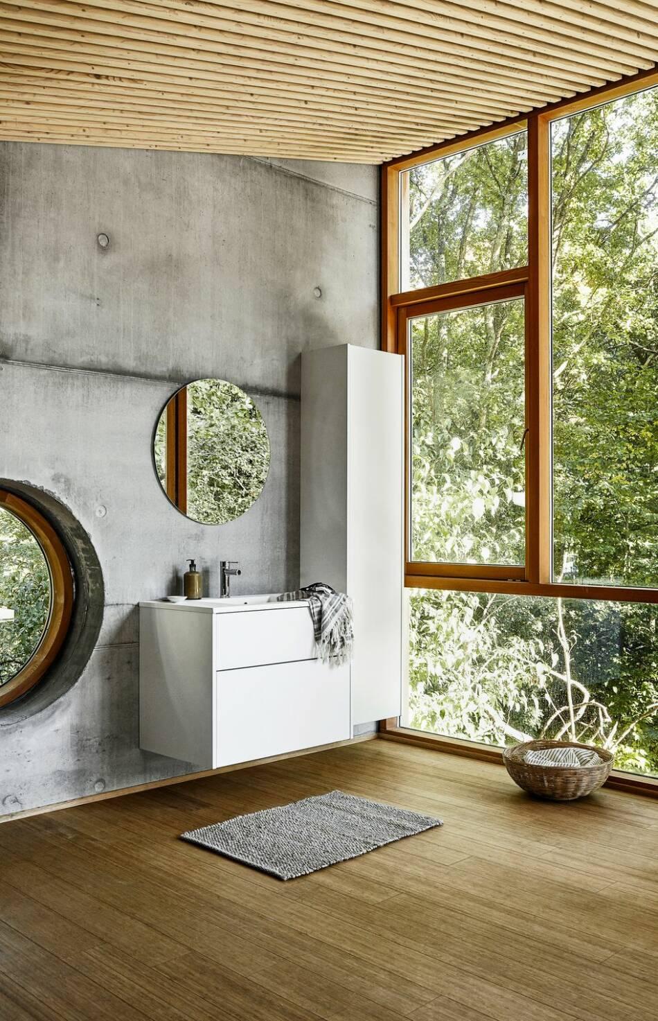 5 fina exempel på badrum med inredning i trä