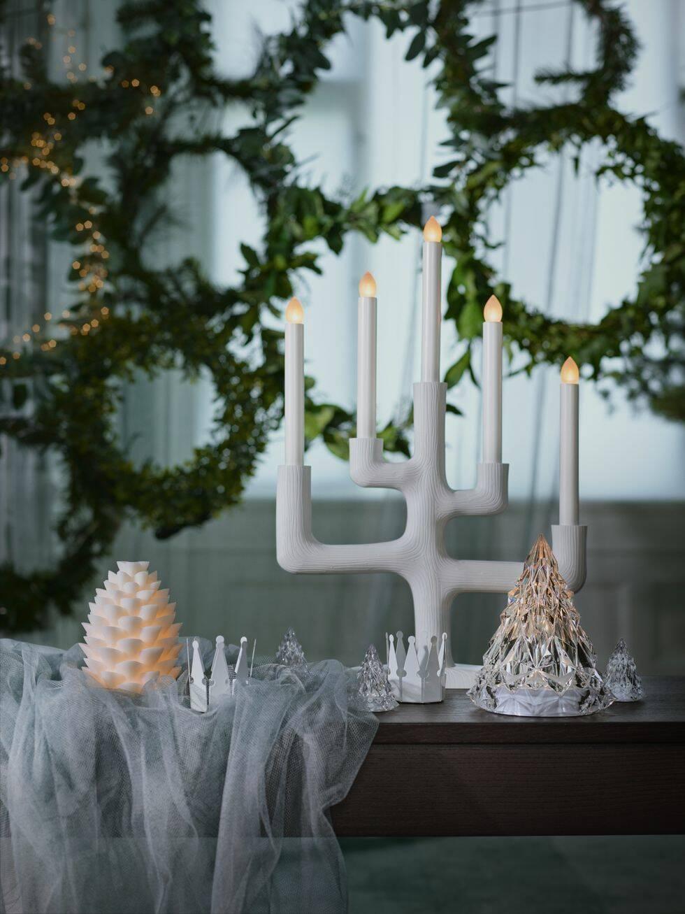 I år blir det en sagolikt varm och inbjudande jul hos Ikea