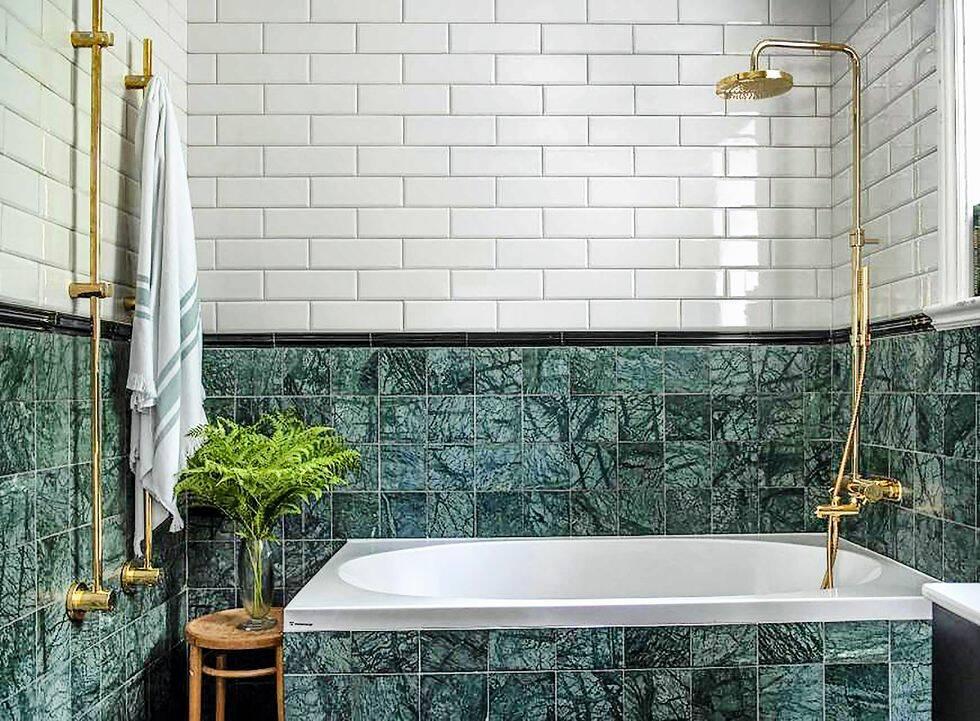 4 sätt att inreda ditt badrum med trendig natursten