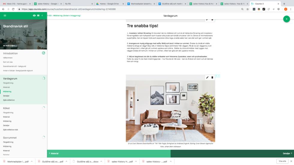 Onlinekurs: Skapa den skandinaviska stilen i ditt hem