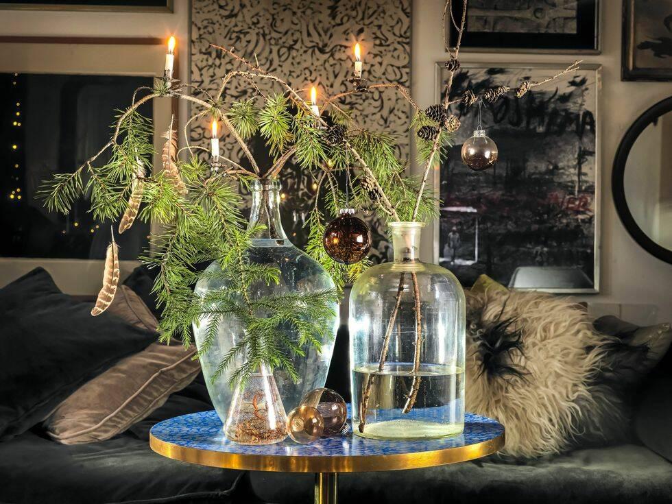 5 sätt att skapa julkänsla med vackert vintergrönt från naturen