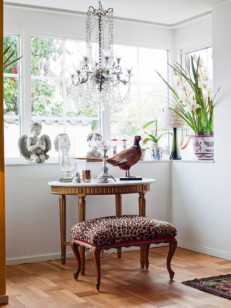 Veckans härligaste hem: Färgstark charm i Skanör