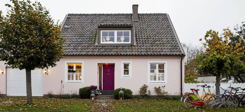 Veckans drömhem: Litet hus med storslagen inredning