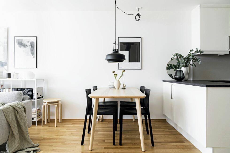 Nordiskt neutralt och personligt hemma hos Anna Bülow