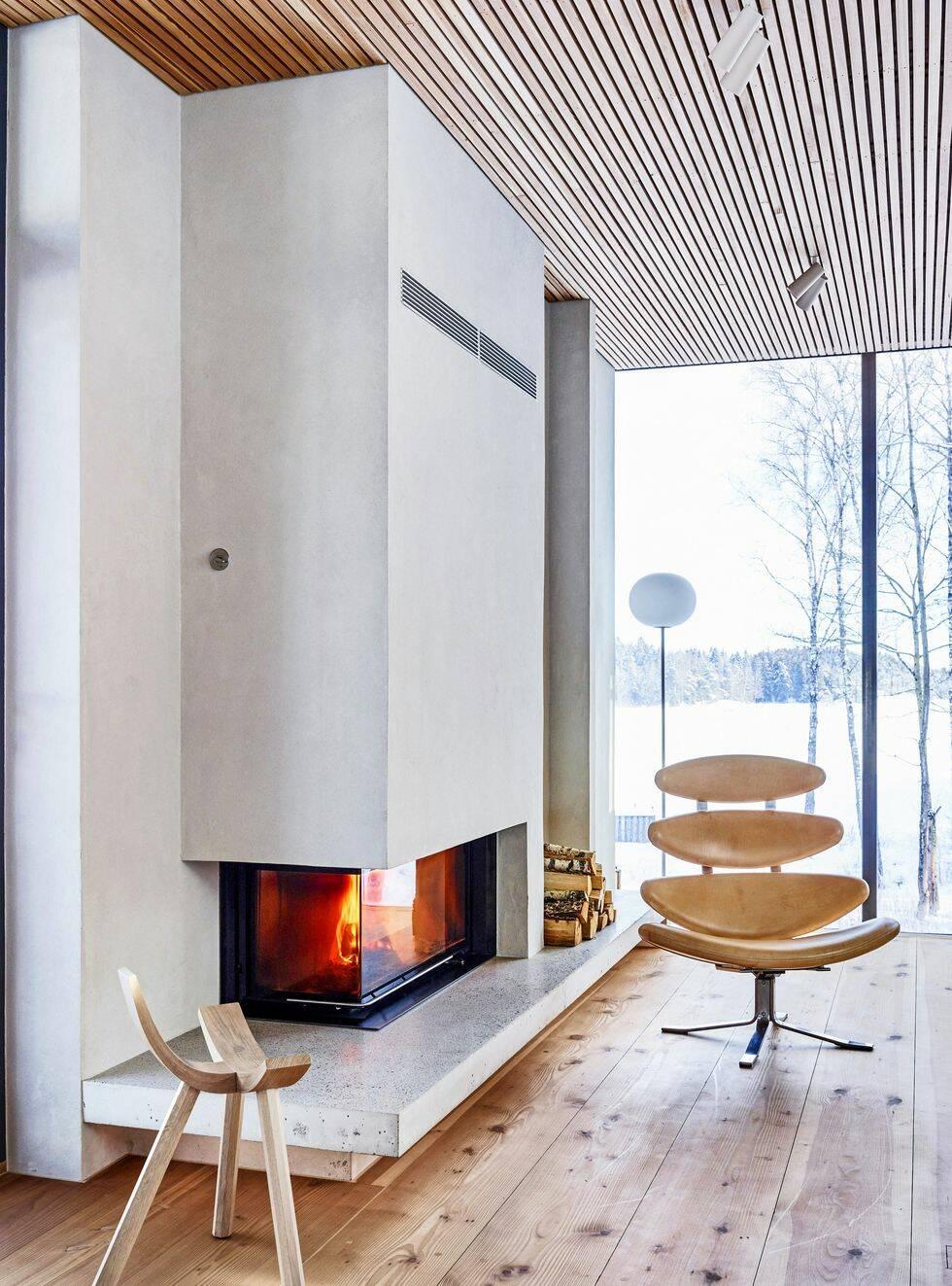 Det här arkitektritade huset är både energieffektivt och öppet
