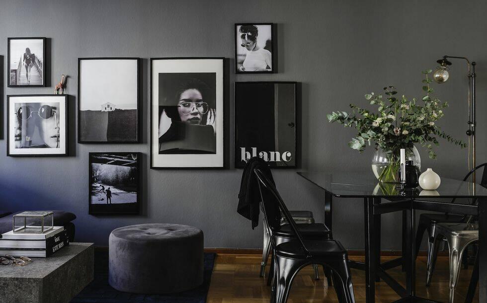 Inred med mörka färger – 12 rum som sätter stilen