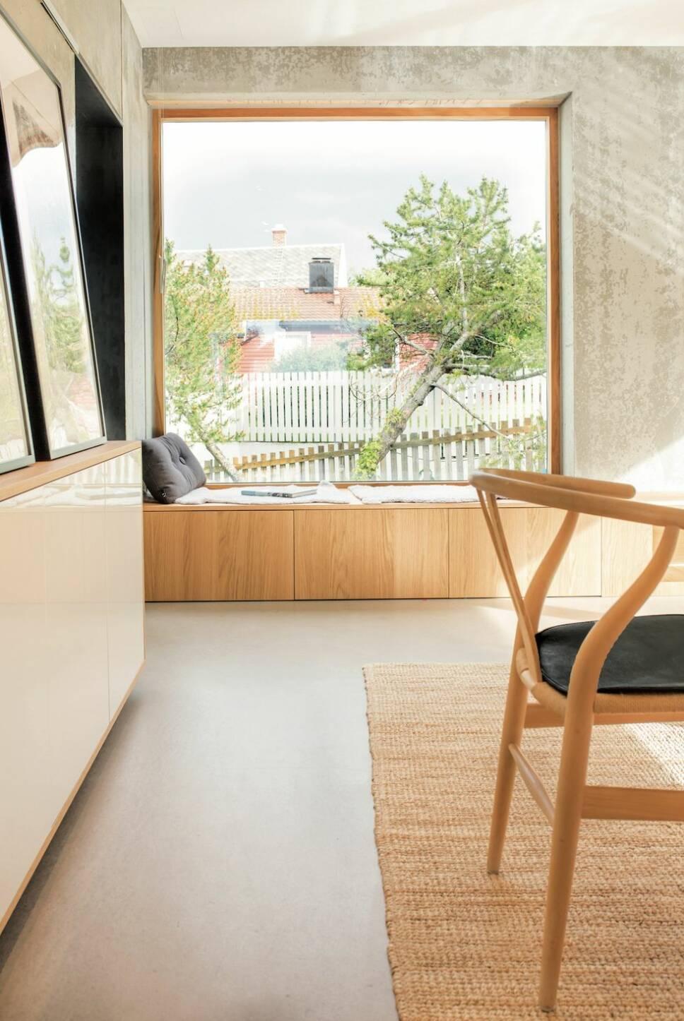 Så här bygger du en sittbänk med förvaring vid fönstret