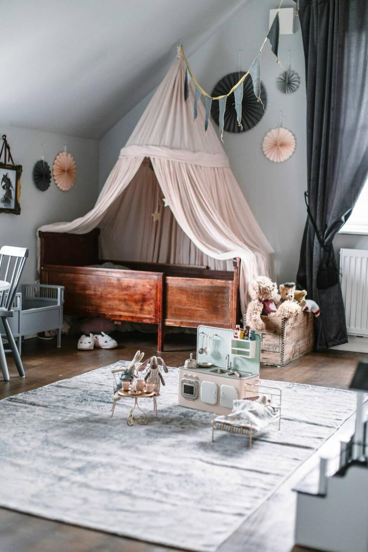Världens finaste barnrum – med eget dressingroom!