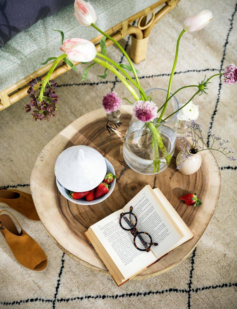 Stylistens underbara uterum – så inreder du bohemiskt elegant