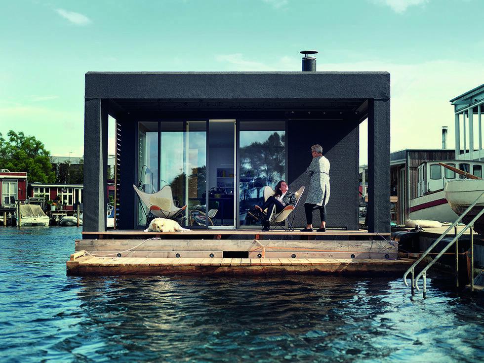 Drömmer du om att bo på en husbåt?
