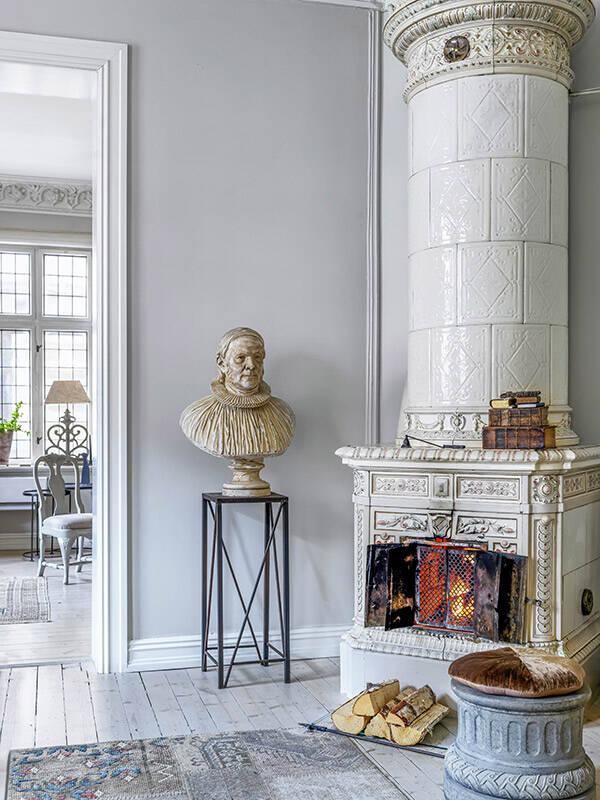 Sinnrika lösningar i vintagevåningen