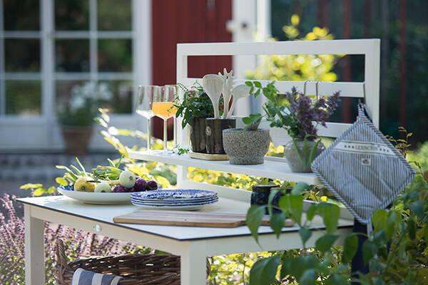 Inred ett kök utomhus - 10 smarta och snygga utekök