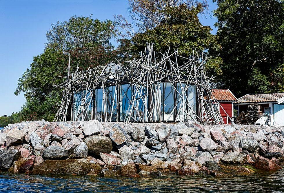 Arkitektritat fågelbo - så tänkte arkitekten Alexander Lervik