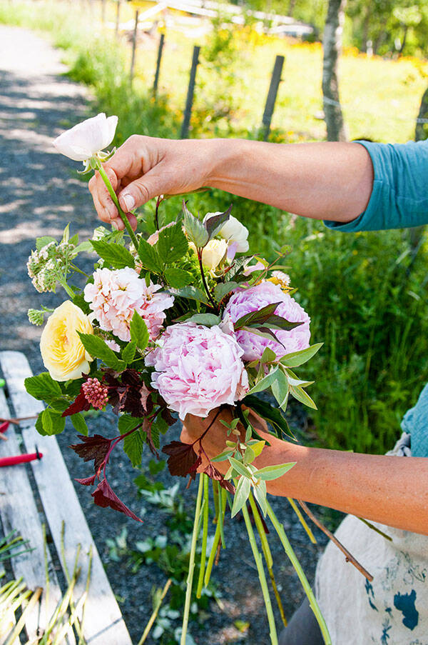 Floristens bästa knep för att binda den vackraste buketten av sommarblommorna