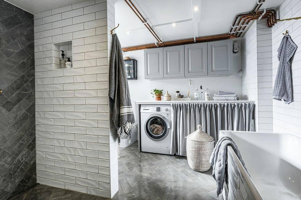 Så lyckas du med att inreda tvättstugan med spa-känsla