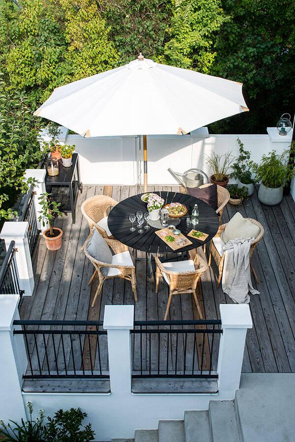 20-tals villa med rum för alla årstider - inredningstips