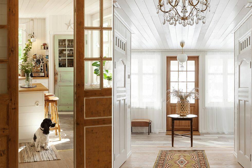 Skandinavien möter New England i det hållbara hemmet