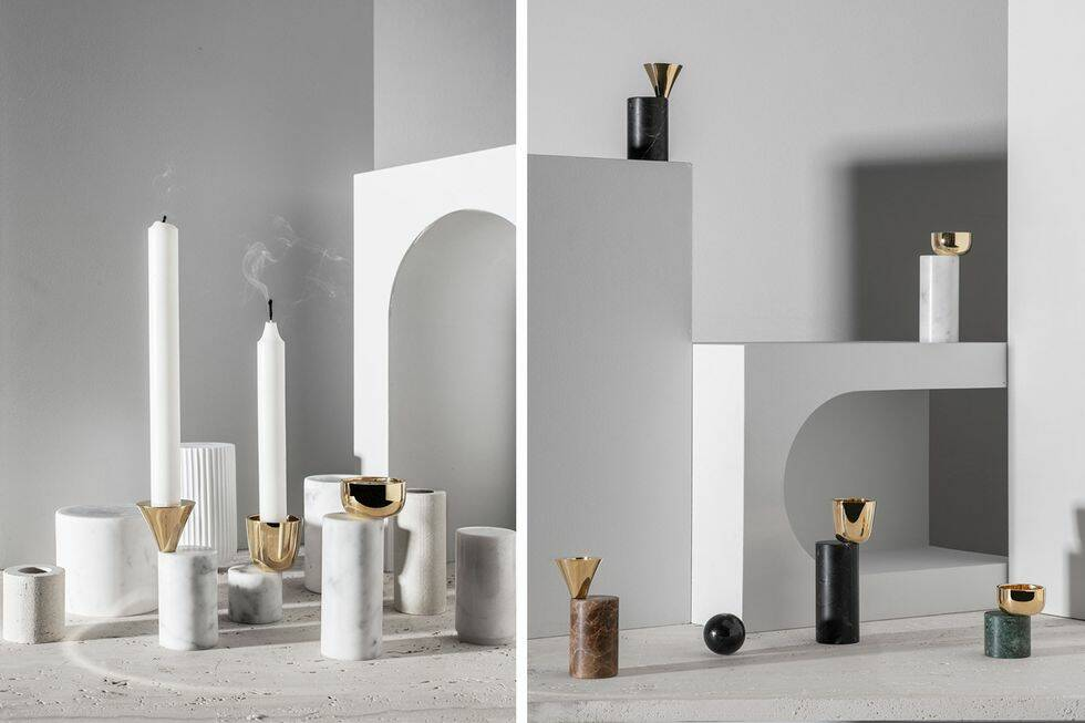 Tips: Framtida designklassiker i marmor och mässing