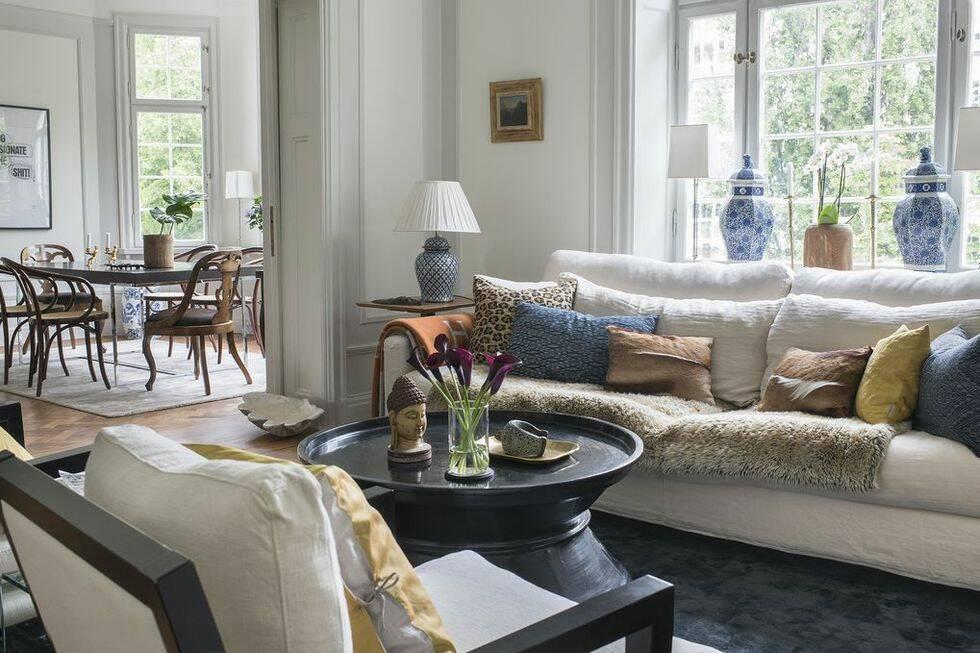 5 snygga vardagsrum i olika stilar - stylingtips