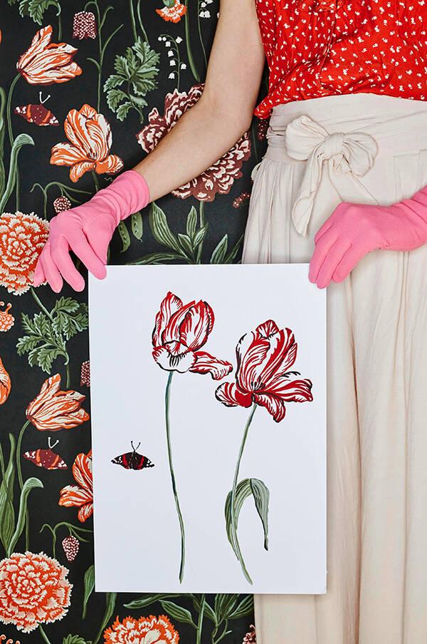 Nya tapettrenden - sköna botaniska mönster